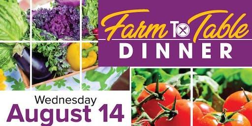 Farm to Table Dinner