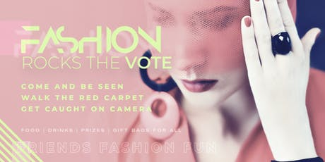 Fashion Rocks the Vote tickets