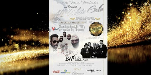 Mayor McClendon's All White Gala - A Party With a Purpose