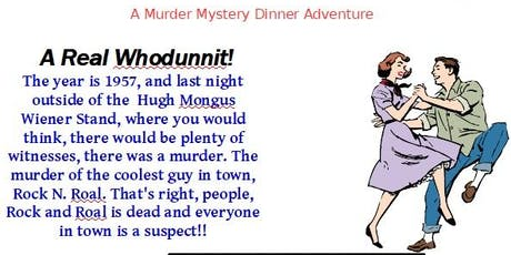 Murder at the Hop tickets