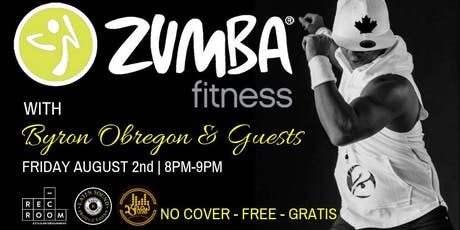★ Zumba Fitness with Byron Obregon ★ tickets