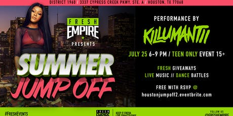 The Summer Jump-off CONTINUES w/Killumantii tickets