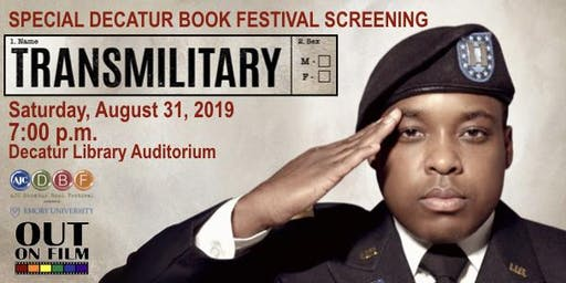 """Decatur Book Festival and Out On Film present """"TransMilitary"""""""