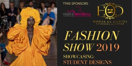 HOUSE OF DANIEL FASHION SHOW tickets