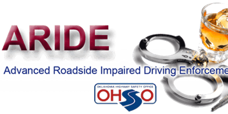 Advanced Roadside Impaired Driving Enforcement (ARIDE) Troop B HQ, Tulsa, OK tickets