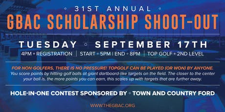 Greater Birmingham Auburn Club Scholarship Shoot-Out at TopGolf tickets
