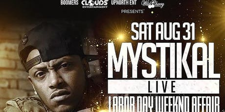 MYSTIKAL LIVE IN CONCERT SAT AUGUST 31 AT BOOMERS IN PORTWENWORTH tickets