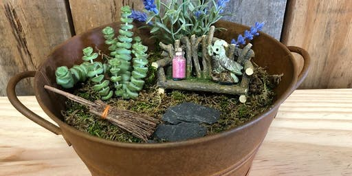 DIY Magical Mystical Garden