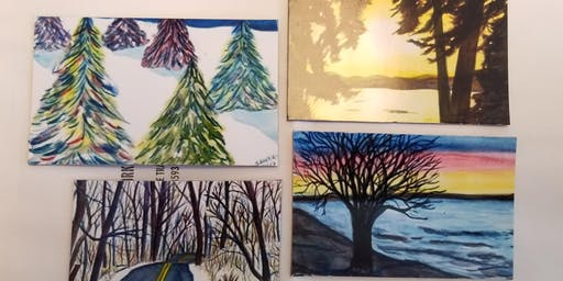 Water color basic - Scenery