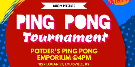 Canopy Ping Pong Tournament tickets