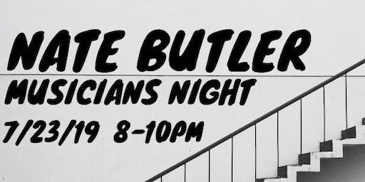 Nate Butler Musician's Night