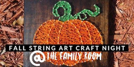 Fall String Art Craft Night! tickets