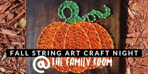 Fall String Art Craft Night!