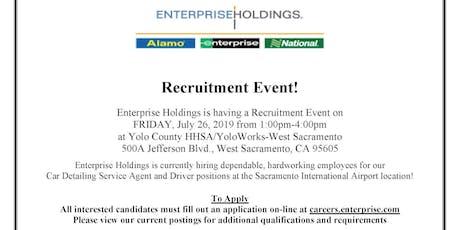 Enterprise Holdings tickets