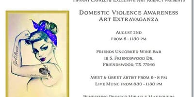 Domestic Violence Awareness - Art Extravaganza