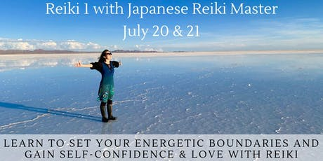 Reiki 1 Class: Boundaries, Self-Confidence & Love July tickets