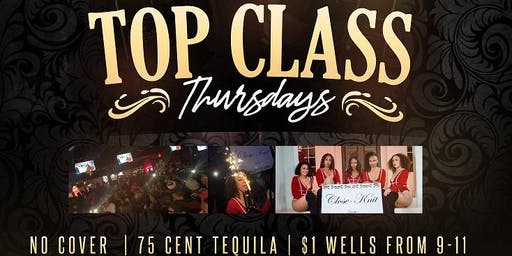 Top Class Thursday's @ Pryme