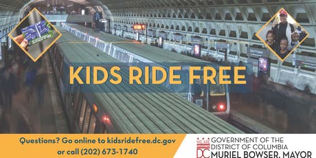 Kids Ride Free (SY 18-19) Replacement Card Pickup -Deanwood tickets
