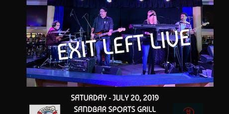 Exit Left Rocks the Sandbar in Cutler Bay! tickets