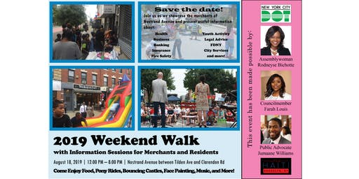 2019 Weekend Walk