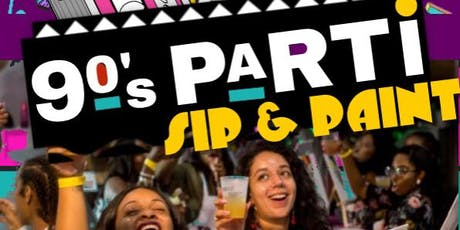 90s Parti Sip and Paint ft. DJ Jubilee tickets