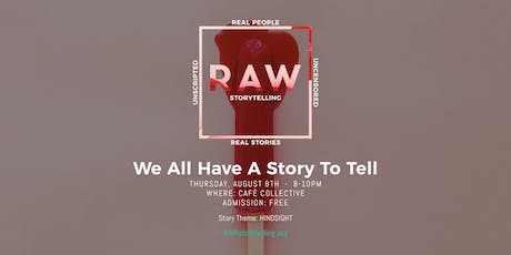 RAW Storytelling: Live True Storytelling Show [Fort Lauderdale] tickets