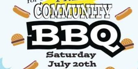 FREE Community BBQ tickets