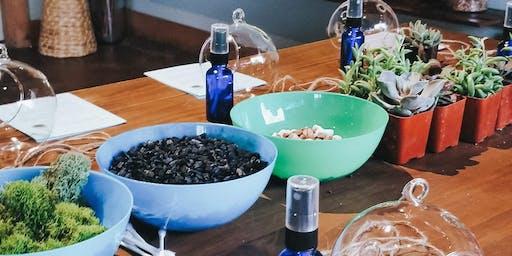 Plants and Pastries (DIY Terrarium Workshop)
