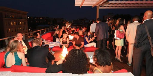 Embassy Row Rooftop: Havana Under the Stars with Latin Band & Salsa Lessons