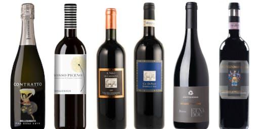 """""""Italian Trunk Show""""  Wine Tasting"""