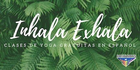 Inhala Exhala: Yoga en Español tickets