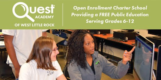 Quest Academy West Little Rock Open Houses | 07/30 & 08/01