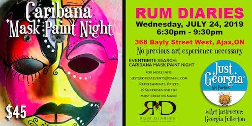 CARIBANA Mask Paint Night