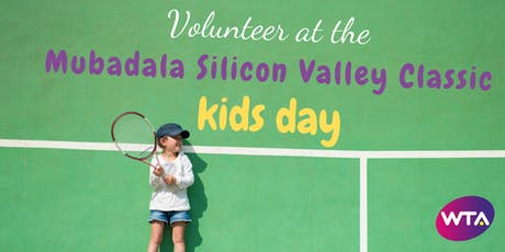 Volunteer at Mubadala Silicon Valley Classic Kids Day tickets