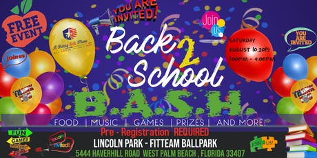 Back 2 School B.A.S.H. tickets
