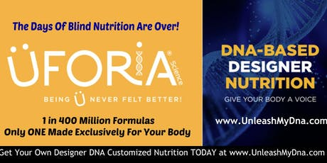 The DNA Nutrition Movement Is Here! tickets
