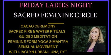 Sacred Feminine Circle & Cacao Ceremony  tickets