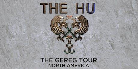 THE HU tickets