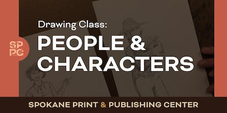 Drawing Class: People & Characters tickets