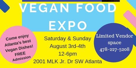 VEGAN FOOD EXPO tickets