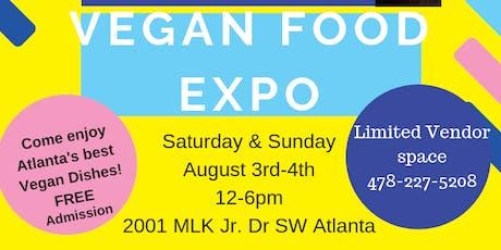 VEGAN FOOD EXPO entradas