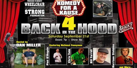 Komedy for a Kause 4 tickets