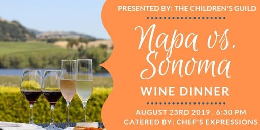 Napa vs. Sonoma Wine Dinner