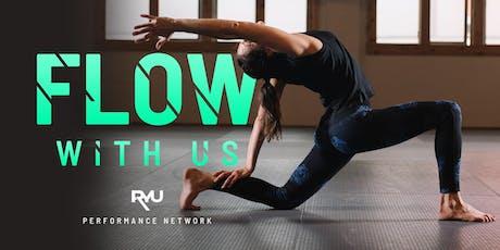 Flow with Us at RYU Fashion Island, Newport Beach tickets