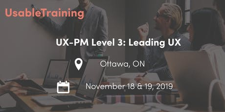 UX Certification: Level 3 - Leading UX tickets