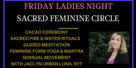 Sacred Feminine Circle & Cacao Ceremony  tickets