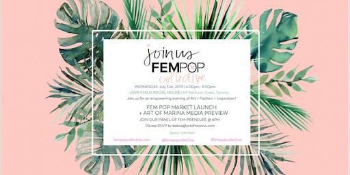 FemPop Collective Market Launch