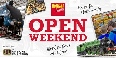 Hornby Visitor Centre – The One:One Collection Open Weekend (Saturday Afternoon) tickets