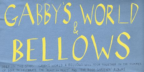 GABBY'S WORLD • BELLOWS • Crisman tickets