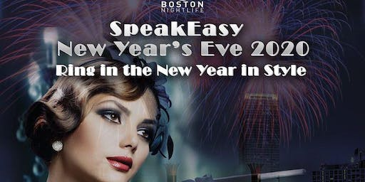 Boston New Year's Eve 2020 - Speakeasy Cruise